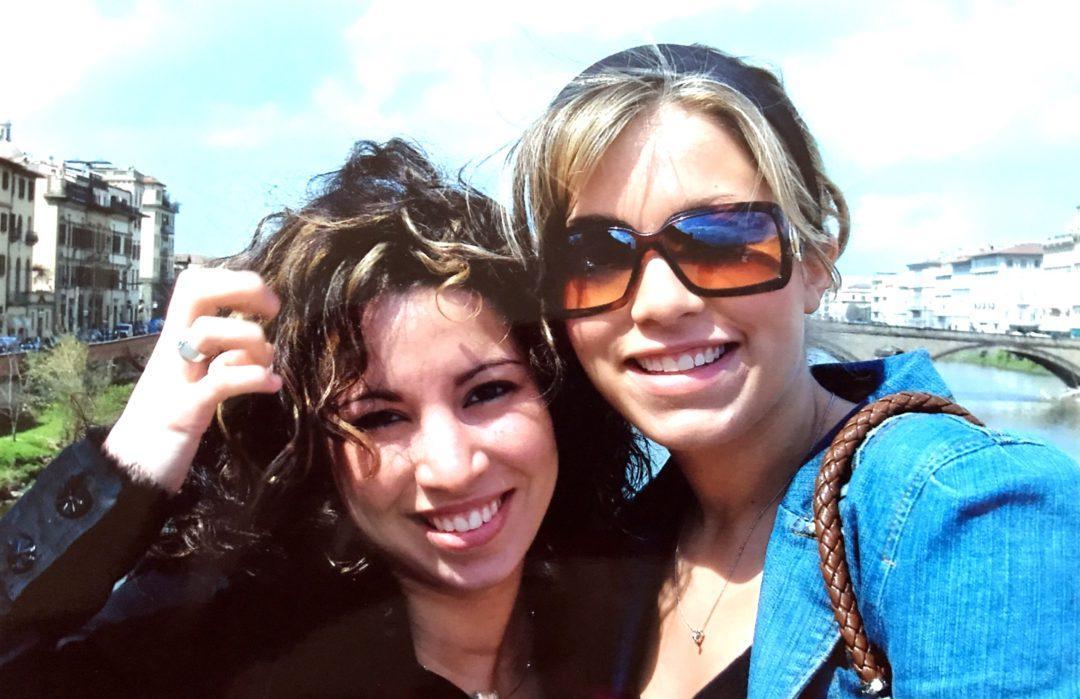 I once had long hair! 😉 Cydny & alex