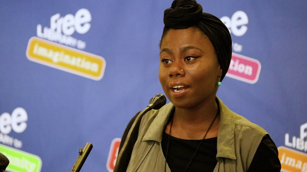 Youth Poet Laureate Press Conference - Parkway Central Library Free Library of Philadelphia 9/2017