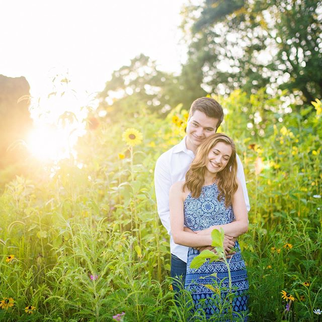 I couldn't even wait a day to post a sneak peek of Sydney and Alex's engagement session. They're both former students and I'm so happy for them! Also, they're ridiculously photogenic 😊 Shout-out to the nice couple who let us use their sunflowers on a whim!