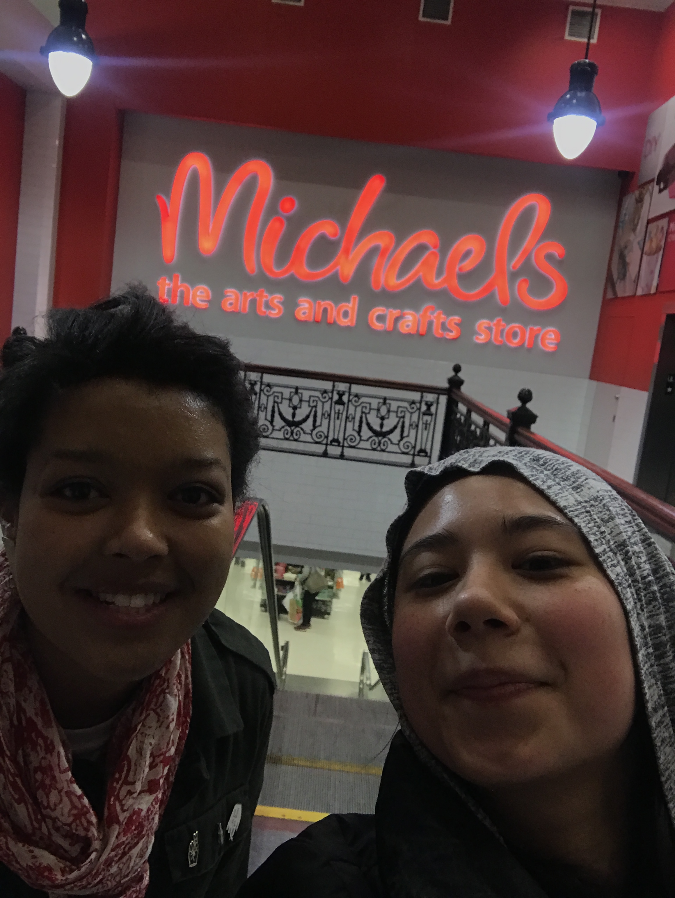 When it's a rainy day, visit Michael's!