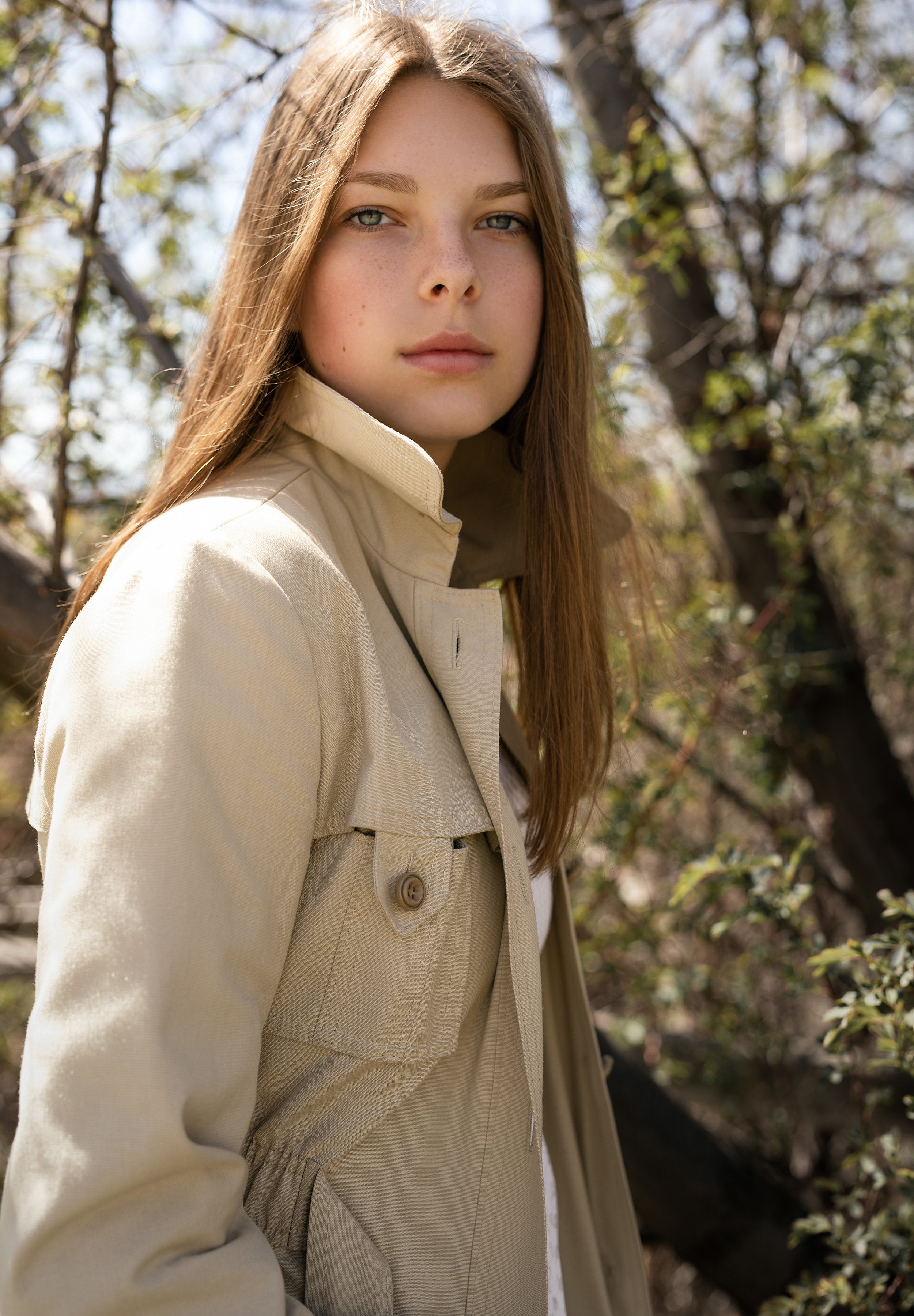 Ava in her most recent test shoot by Nadya Ward wearing Georgie Girl Vintage. Shot in Kelowna.
