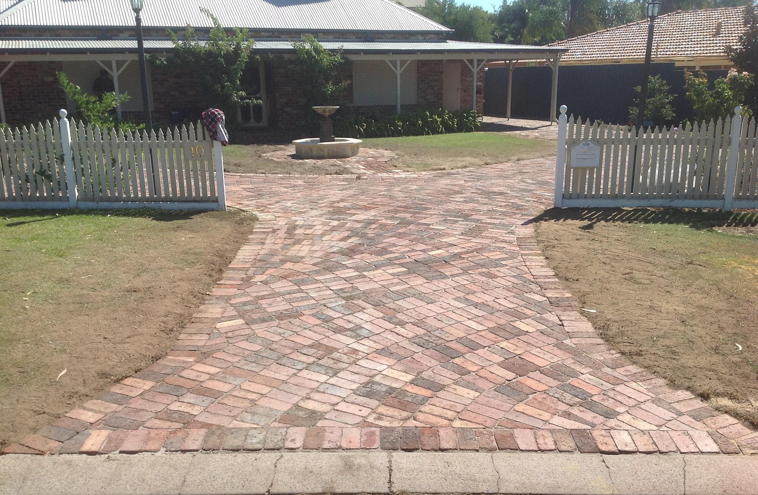 Brick paving Perth