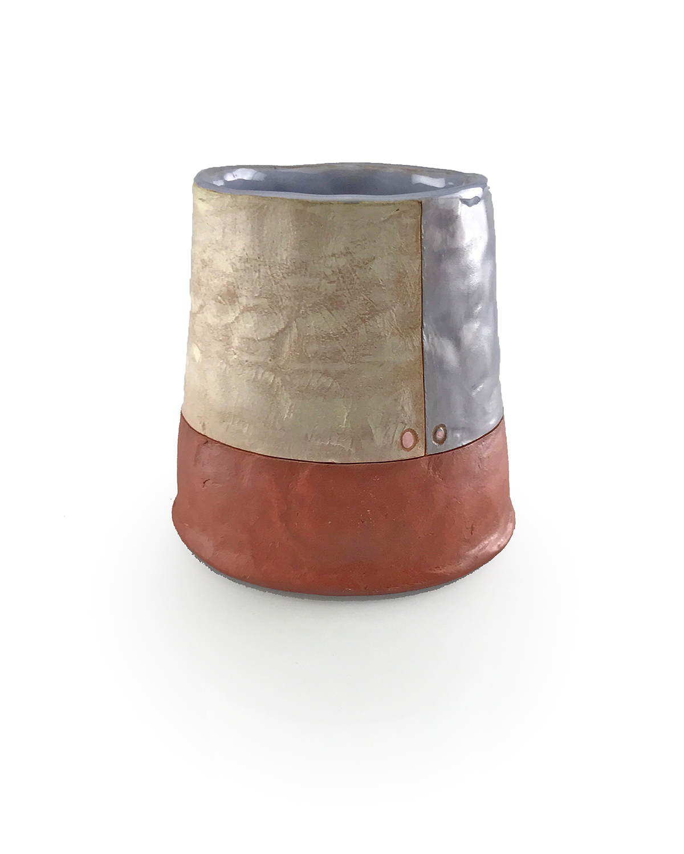 Didem Mert_Pur-Peel Cup_2017_mid-range stoneware, terra sigs., AMACO underglazes, slips, washes, glazes, fired to cone 5 OX._3.5_x3.5_x3.5_.jpg
