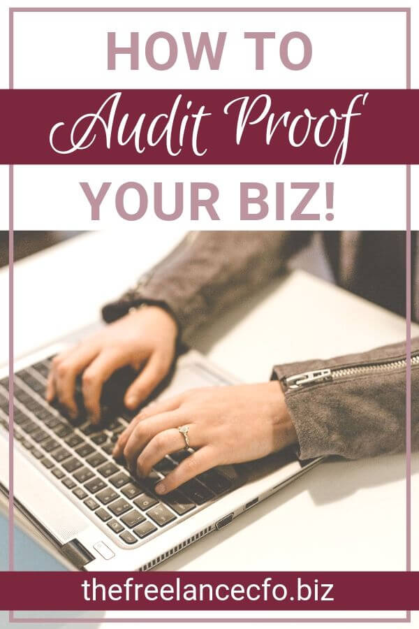 Are you a small business owner or entreperneur? Then you need to know how to audit proof your business in order to save as much money as possible come tax time!