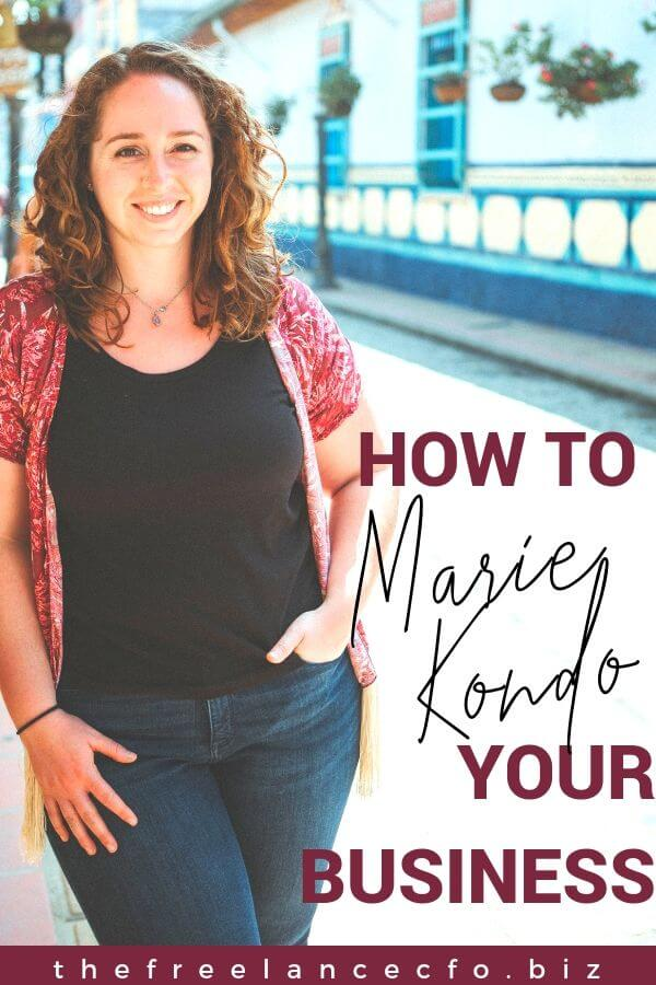 What does it mean to Marie Kondo your business, and why is it important? Here's a hint: it's about defining your specialty or niche. Click to learn more!
