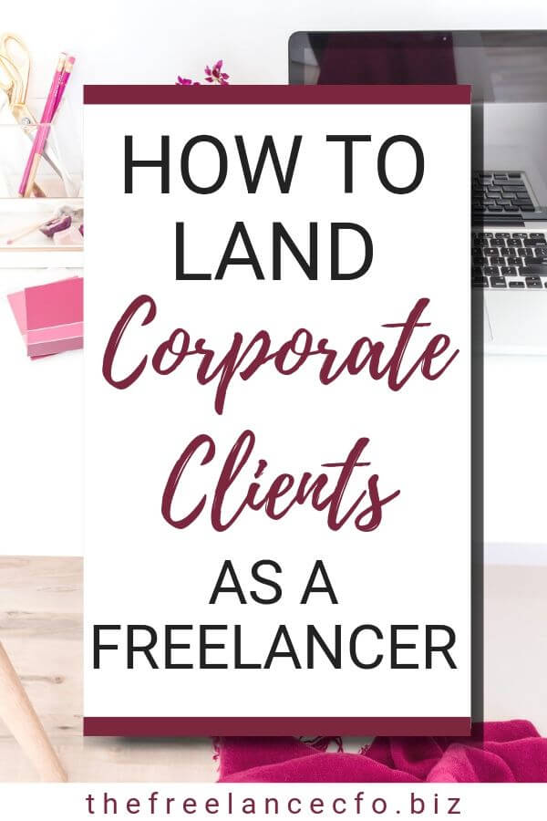 It can feel intimidating to pitch corporate level clients, but that's mostly just imposter syndrome rearing it's ugly head. Here's the secret about corporate clients that will have you pitching and landing the big fish in no time!