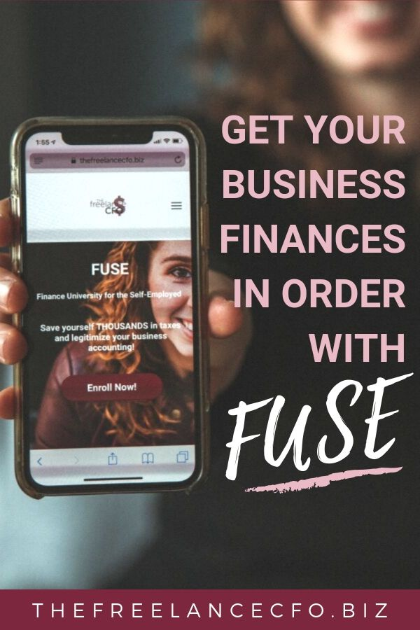 A lot of small business owners love to make money, but are terrified of managing their finances! I get it, it can be overwhelming, especially if you have no experience in bookkeeping or accounting. The good news, with FUSE you can become a pro at DIY business finance! Click to find out why it works!