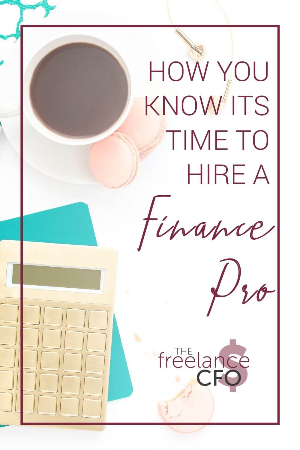 Even if your freelance business isn't your full time career, there is a certain amount of financial planning you need to do in order to have your ducks in a row come tax time. Here are the signs you're at the point where you need to hire a pro.