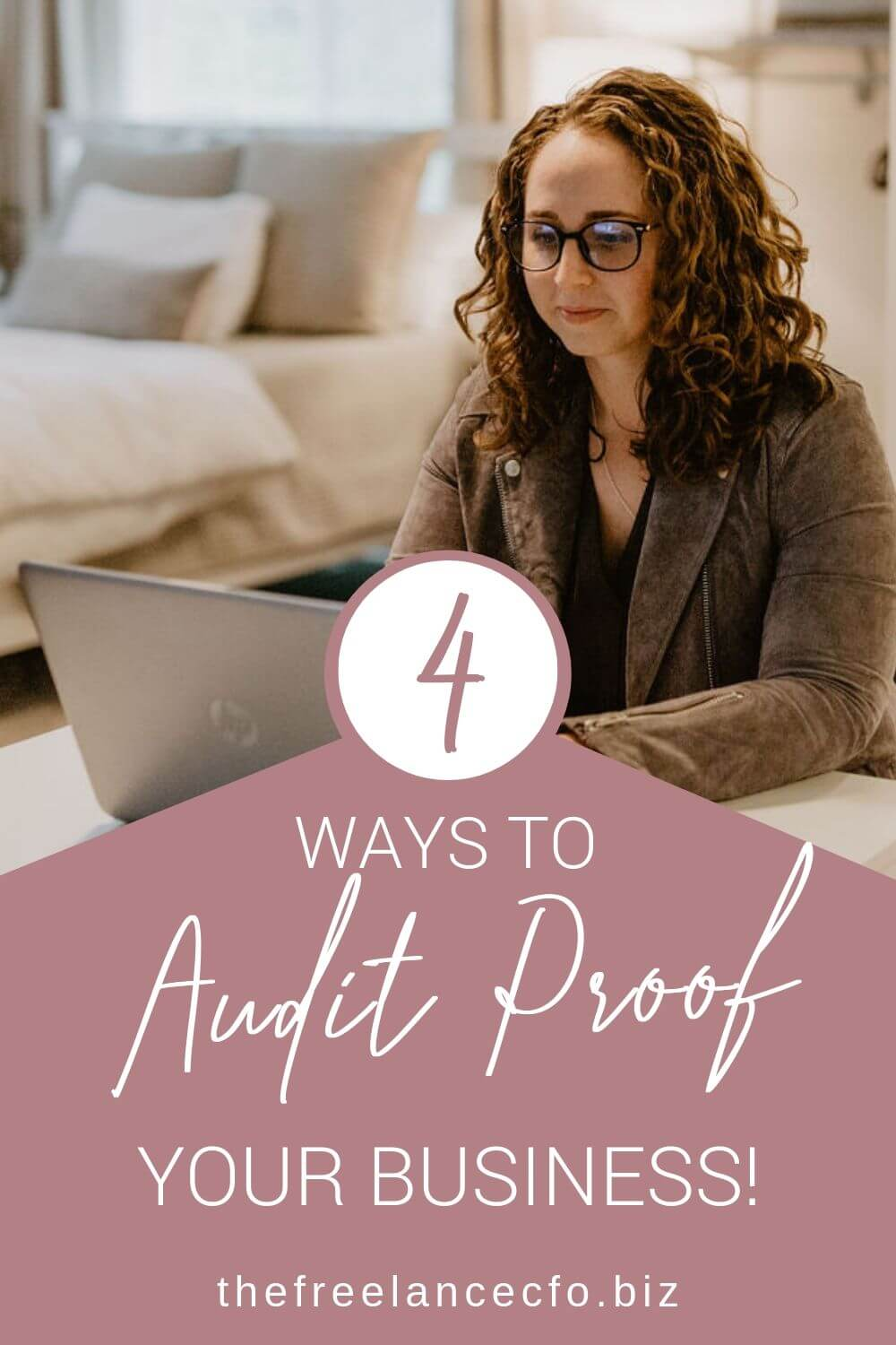 The reality is, even if you own a small business that doesn't make a full time income, you are subject to auditing. But If you implement these four simple strategies, you can effectively audit proof your business!