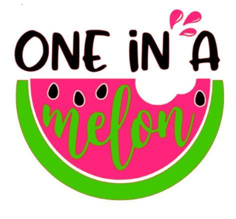 One in a melon.JPG