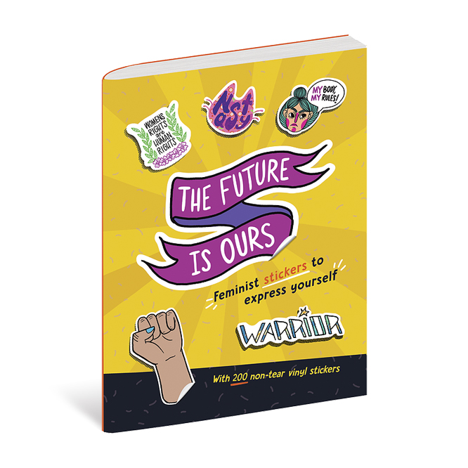 The Future is Ours - Client: duopressAD: Violet LemayIllustrators: Monica Alexander, Erica de Chavez, Em Goheen, Chelsea O'Mara HolemanBook Design: Thomas Boucher(Click image for more.)