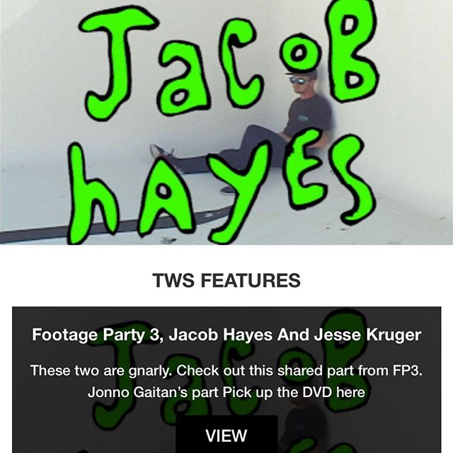 Wow!  Our boy @obi_juan_jacobie slays it in his shared part with @hardassfoo in Footage Party 3!  Holding it down out there on the west coast!  Proud of this dude and how far he has come.  #footageparty3 #alabamaboys