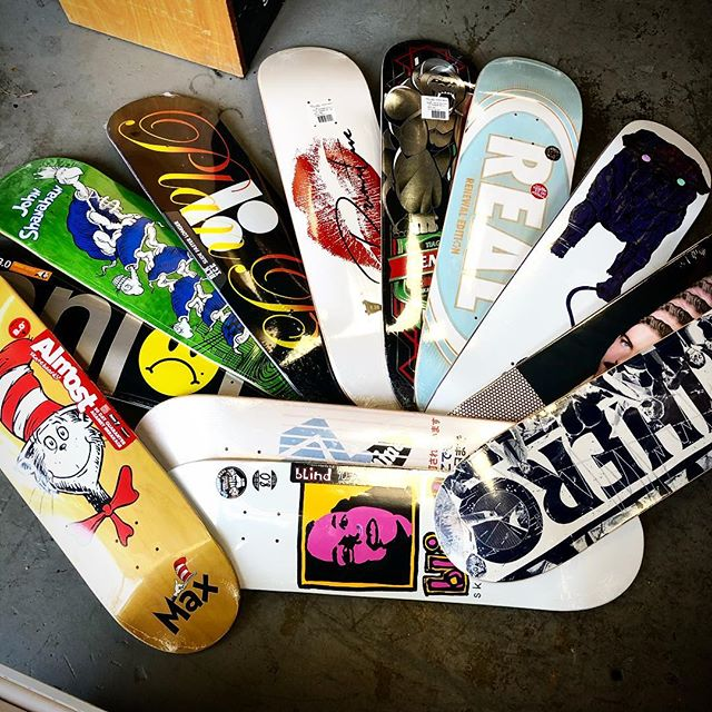 New Wood Wednesday ... almost, DGK, Enjoi, Primitive, TKF, Toy Machine and more... roll thru #faithskatesupply