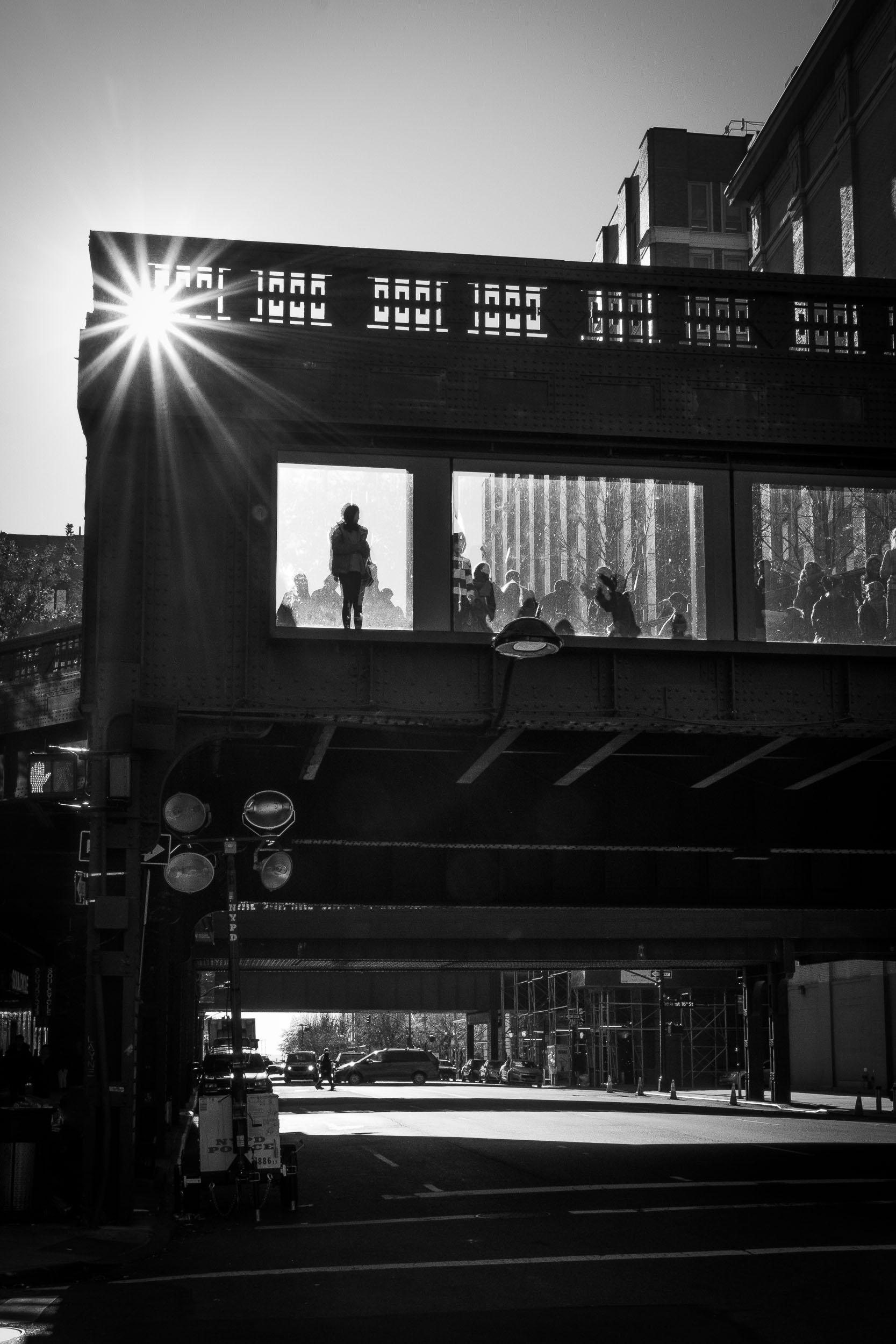 ON THE HIGH LINE, New York City