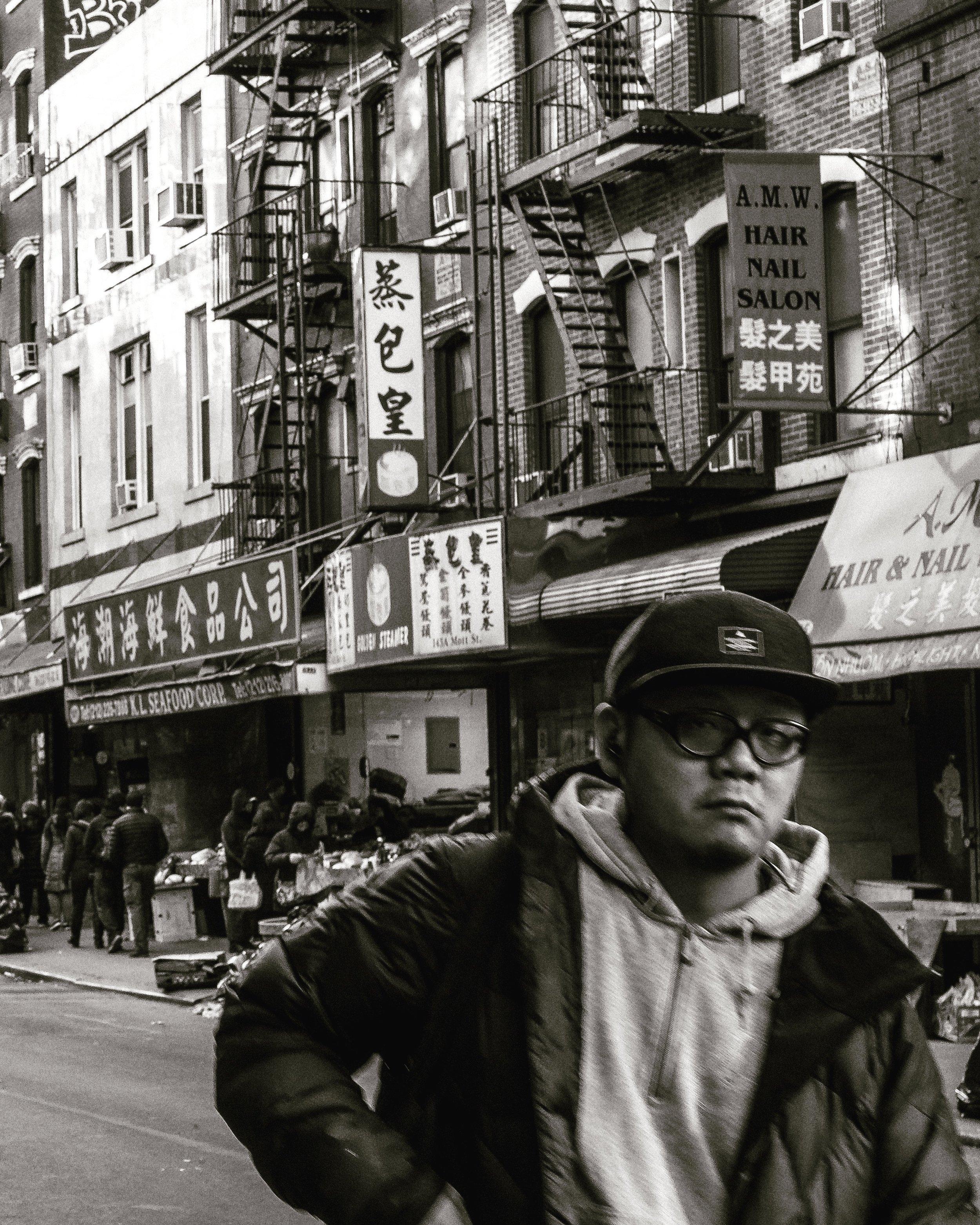 MAN, Chinatown, New York City