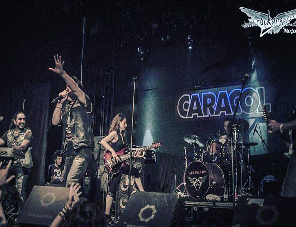 HARDLINE Live in Madrid, Spain