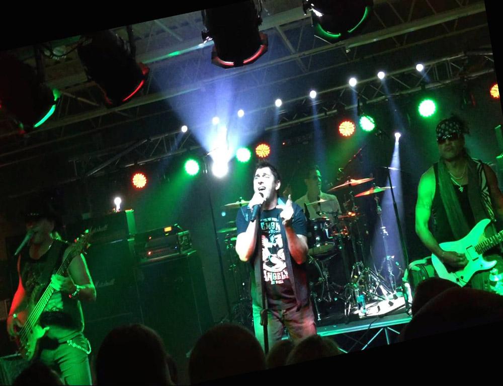 HARDLINE Live in Milan, Italy.
