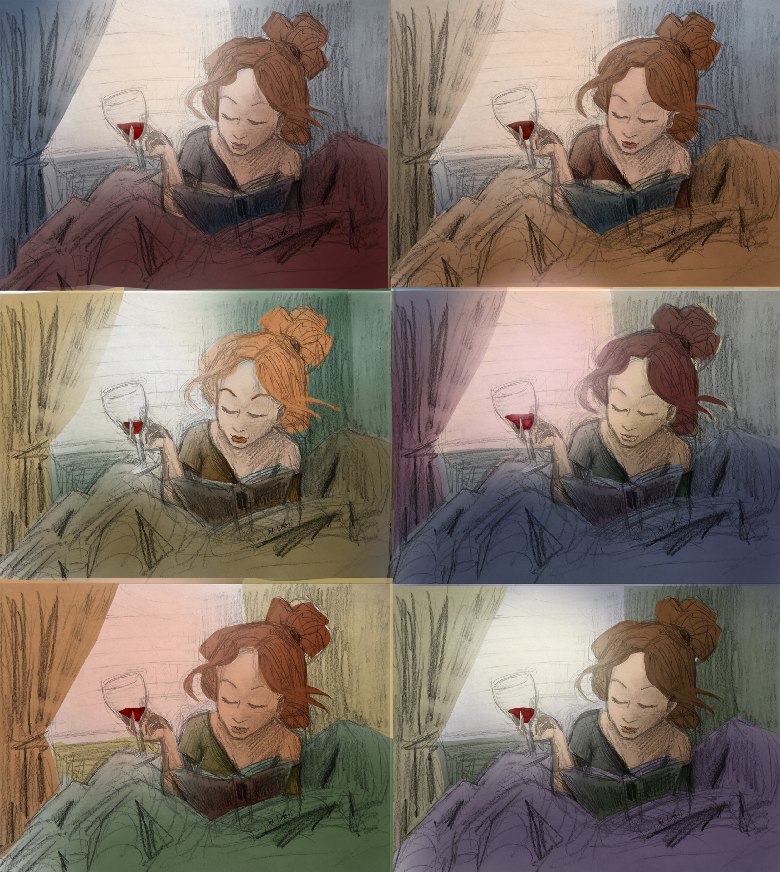 study woman relaxing color comps 2.jpg