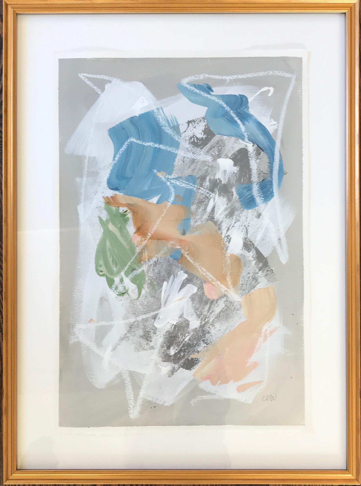 """framed. 19.75""""x27"""". sold"""