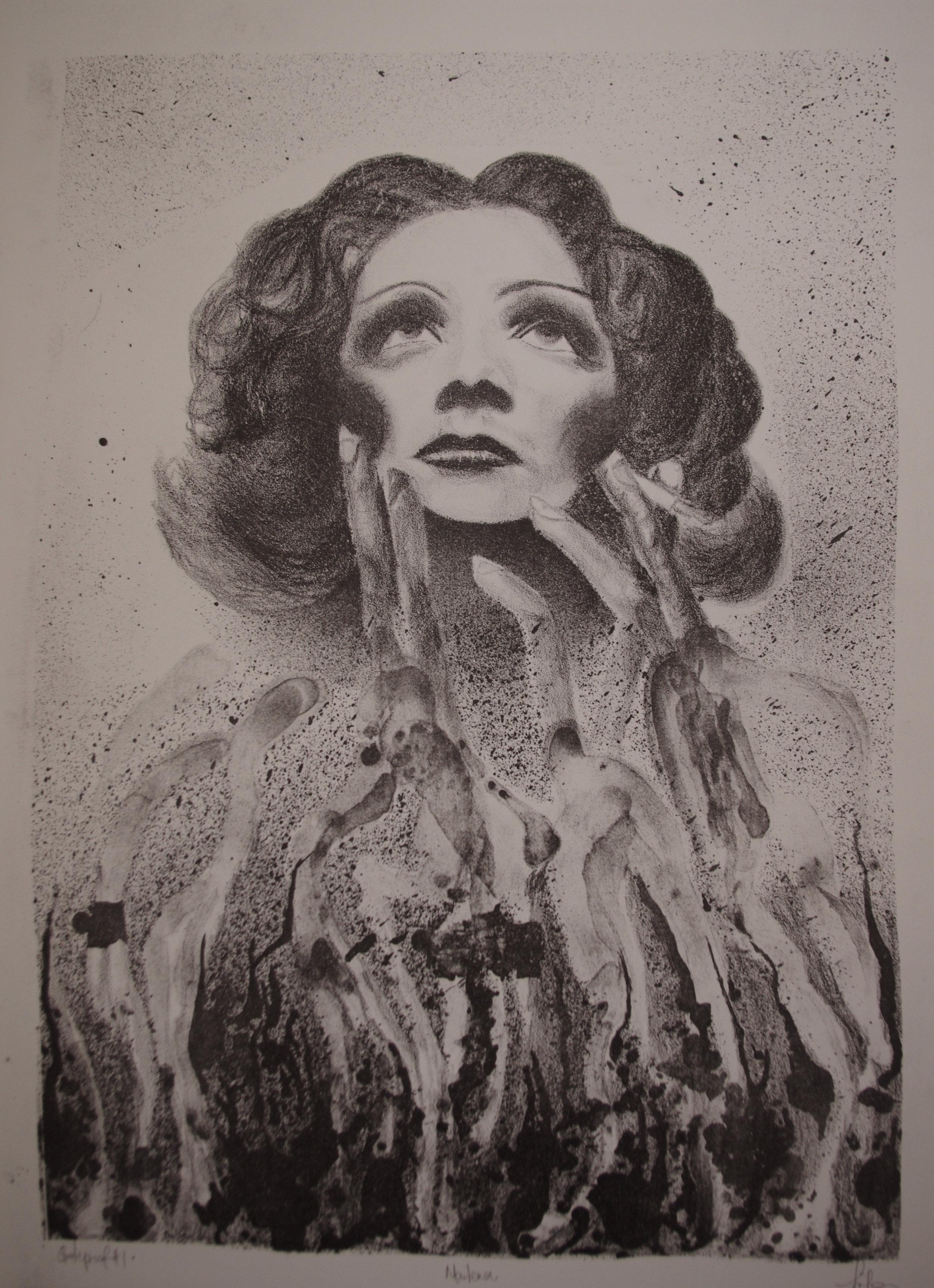 marlena. lithograph