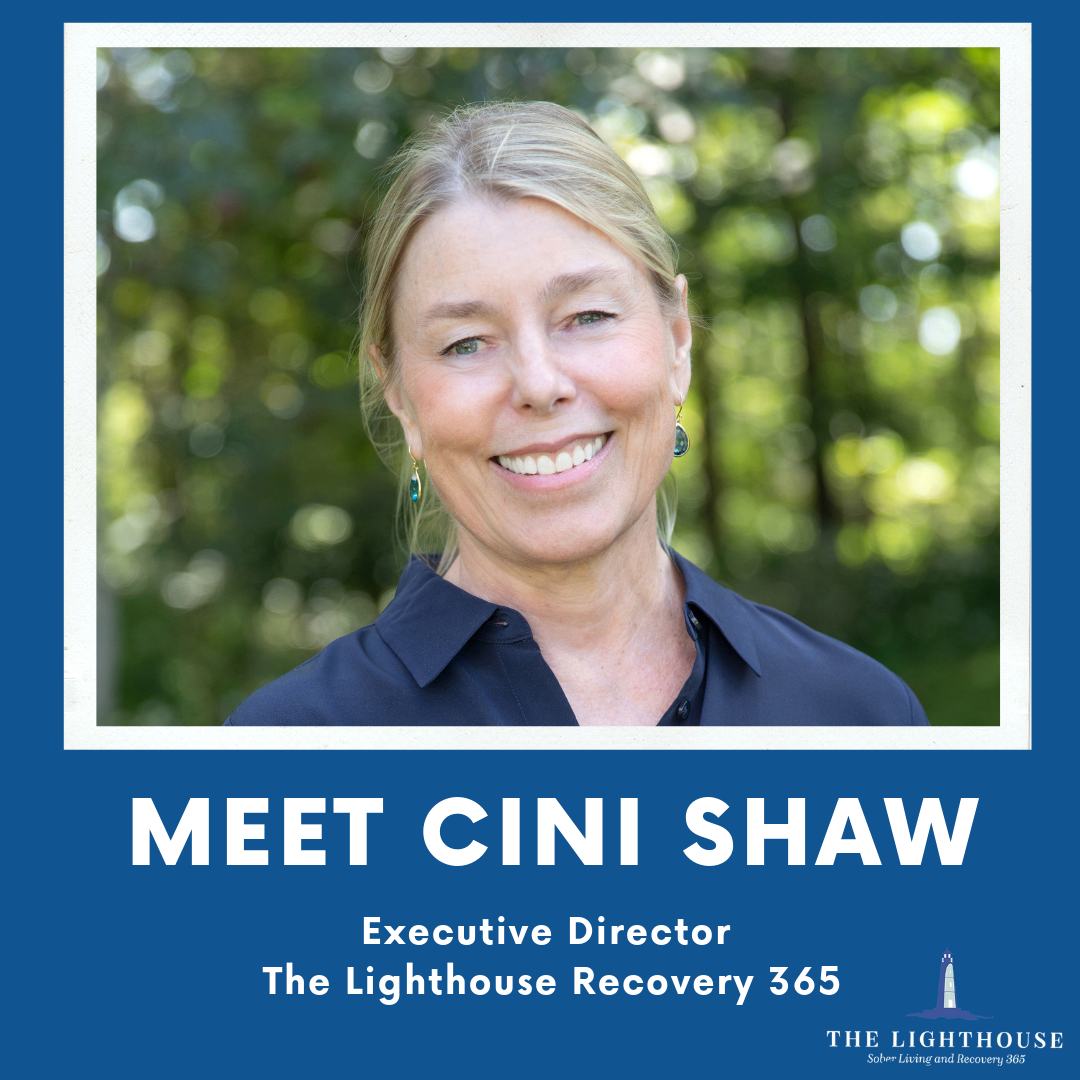 """Cynthia """"Cini"""" Shaw Announced Executive Director The Lighthouse Recovery 365."""