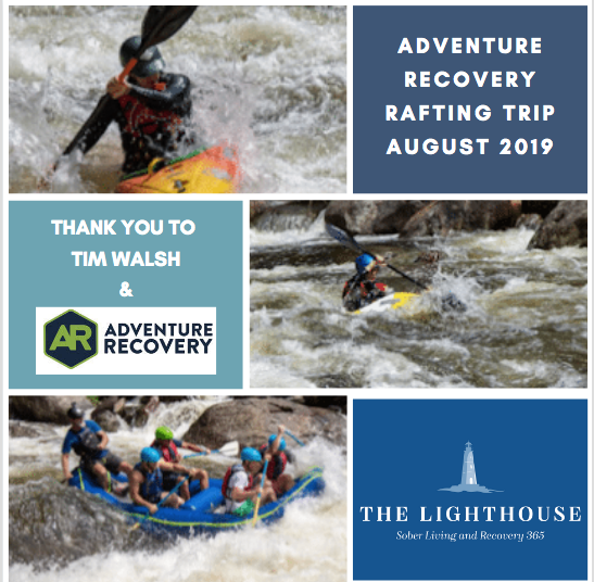 Adventure Recovery and The Lighthouse Sober Living in Connecticut Rafting Trip 2019png