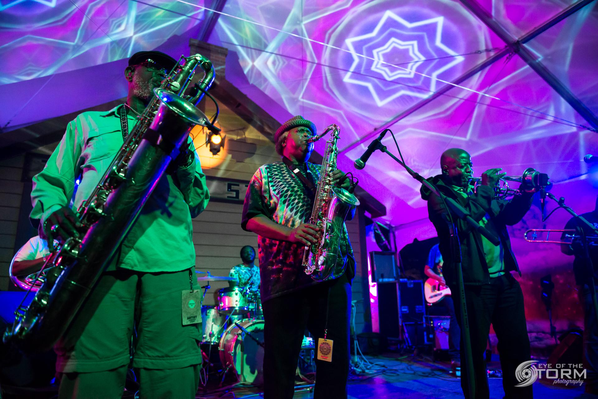 Dirty Dozen Brass Band - 2017-08-26 // Lockn' Music Festival // Arrington, VA