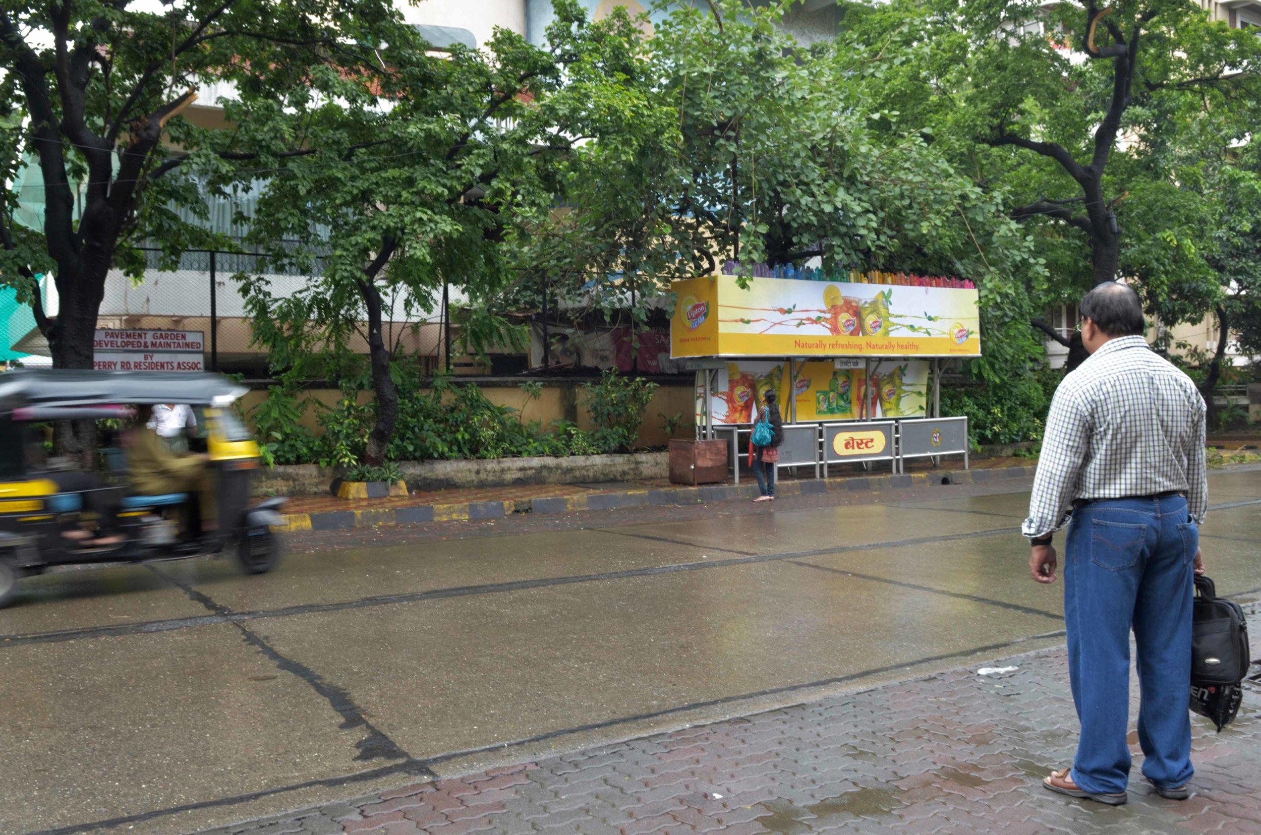 'Bus Stop Bottle Rainbow'3_2011.jpg