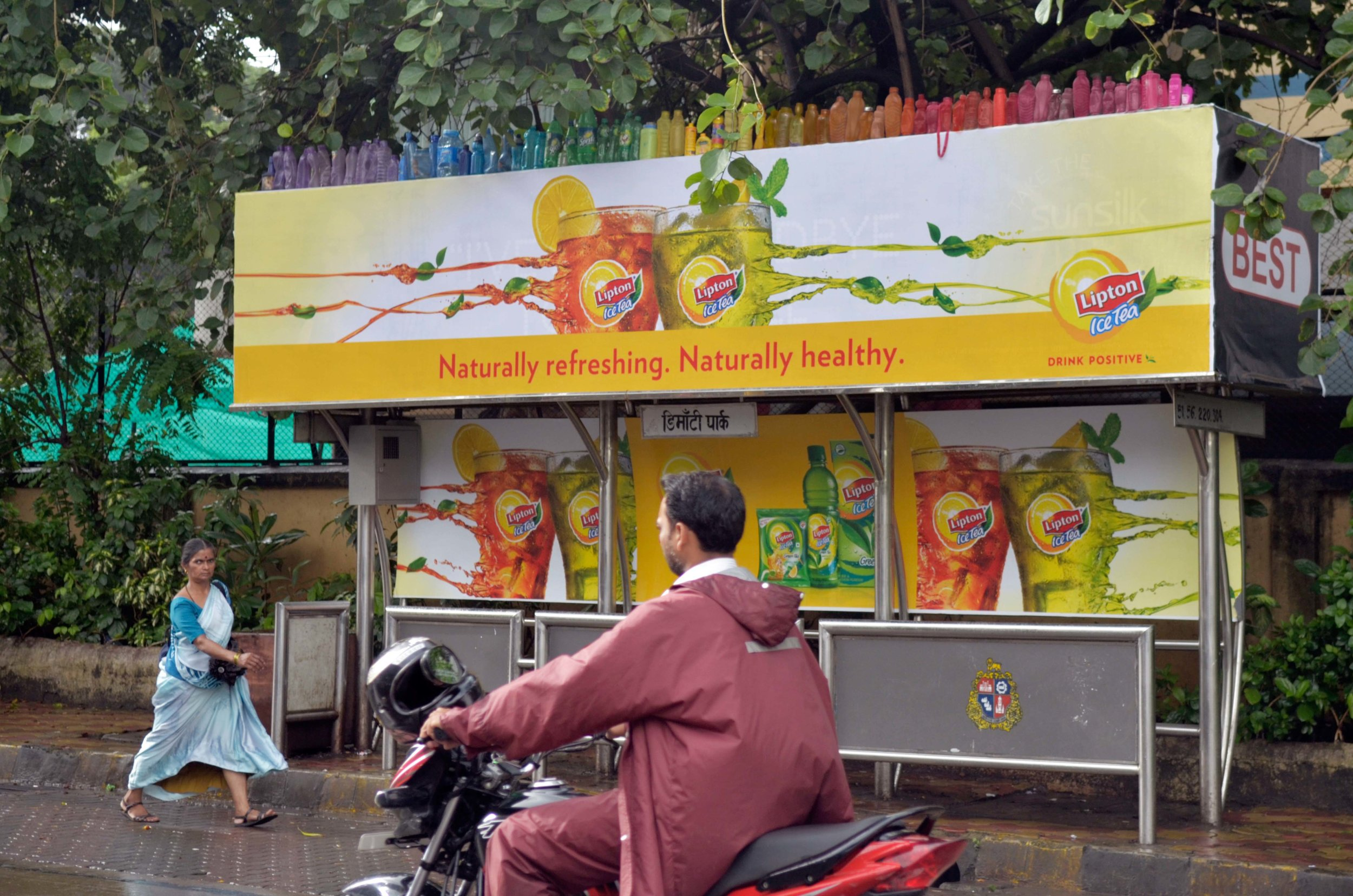 'Bus Stop Bottle Rainbow'1_2011.jpg