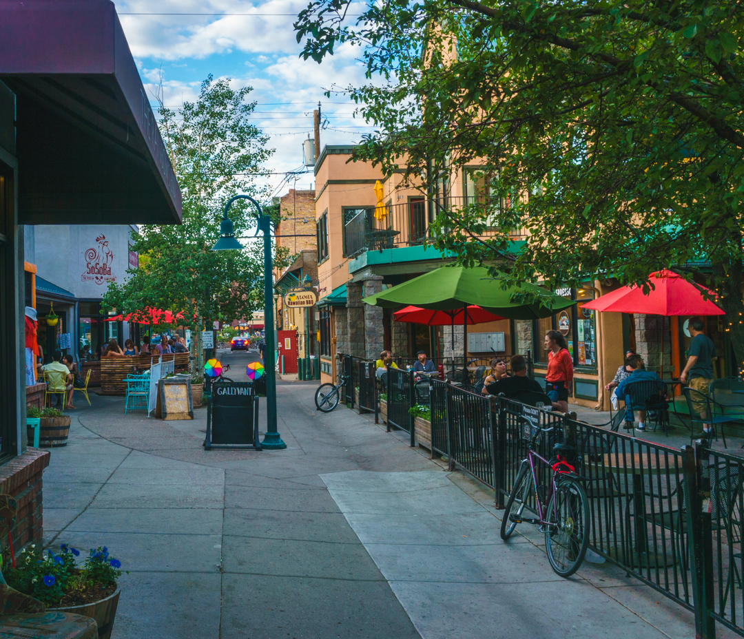 Vibrant colors and a lively spirit permeate many a Main Street throughout the USA!