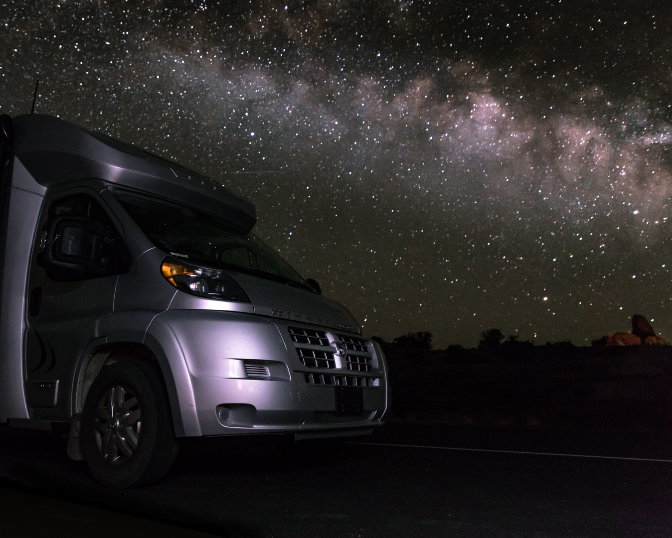Arches National Park is a 24-hour park! There are great opportunities to stargaze and for astrophotography.
