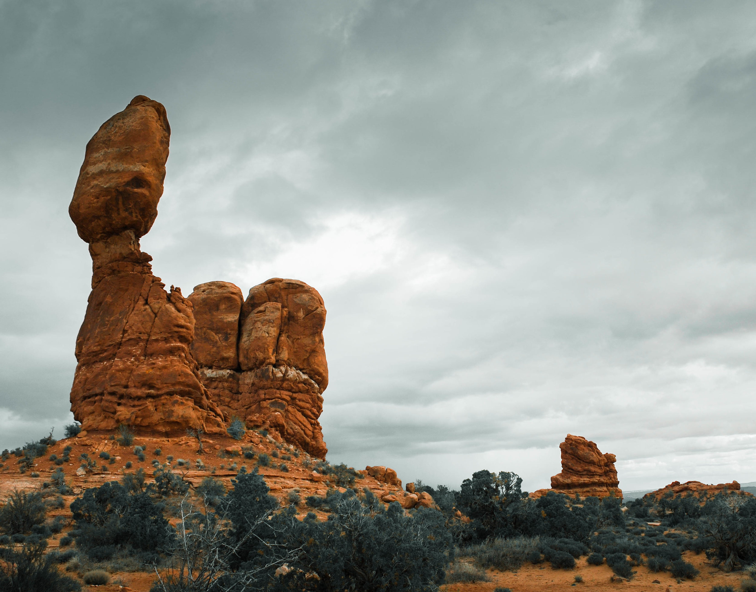 Balanced Rock was one of the first sights we saw our very first time at Arches National Park.