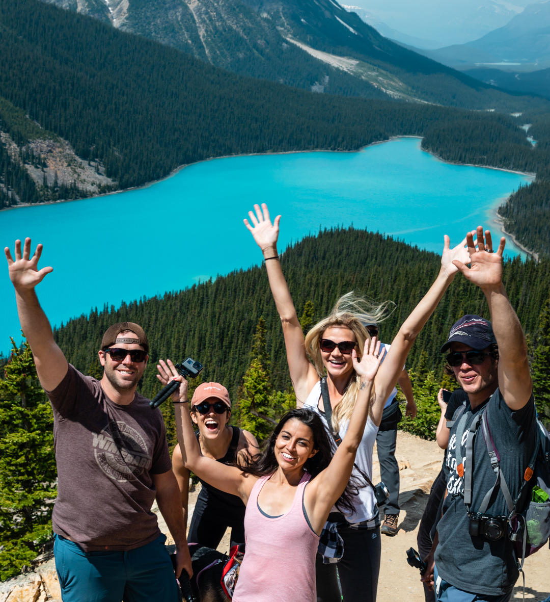 An unforgettable, pinch-yourself-to-make-sure-it's-real trip to Canada this summer with our friends  Dan and Lindsay  and  Pete and Jordan.