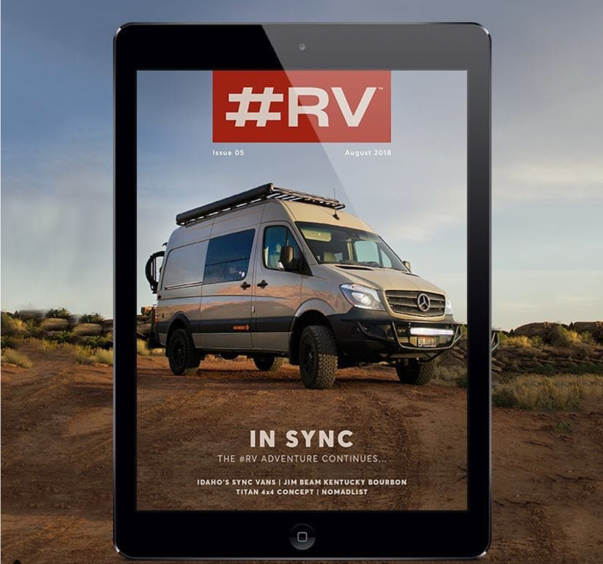 So excited to be working on #RV Magazine! Give it a read and let us know what you think.