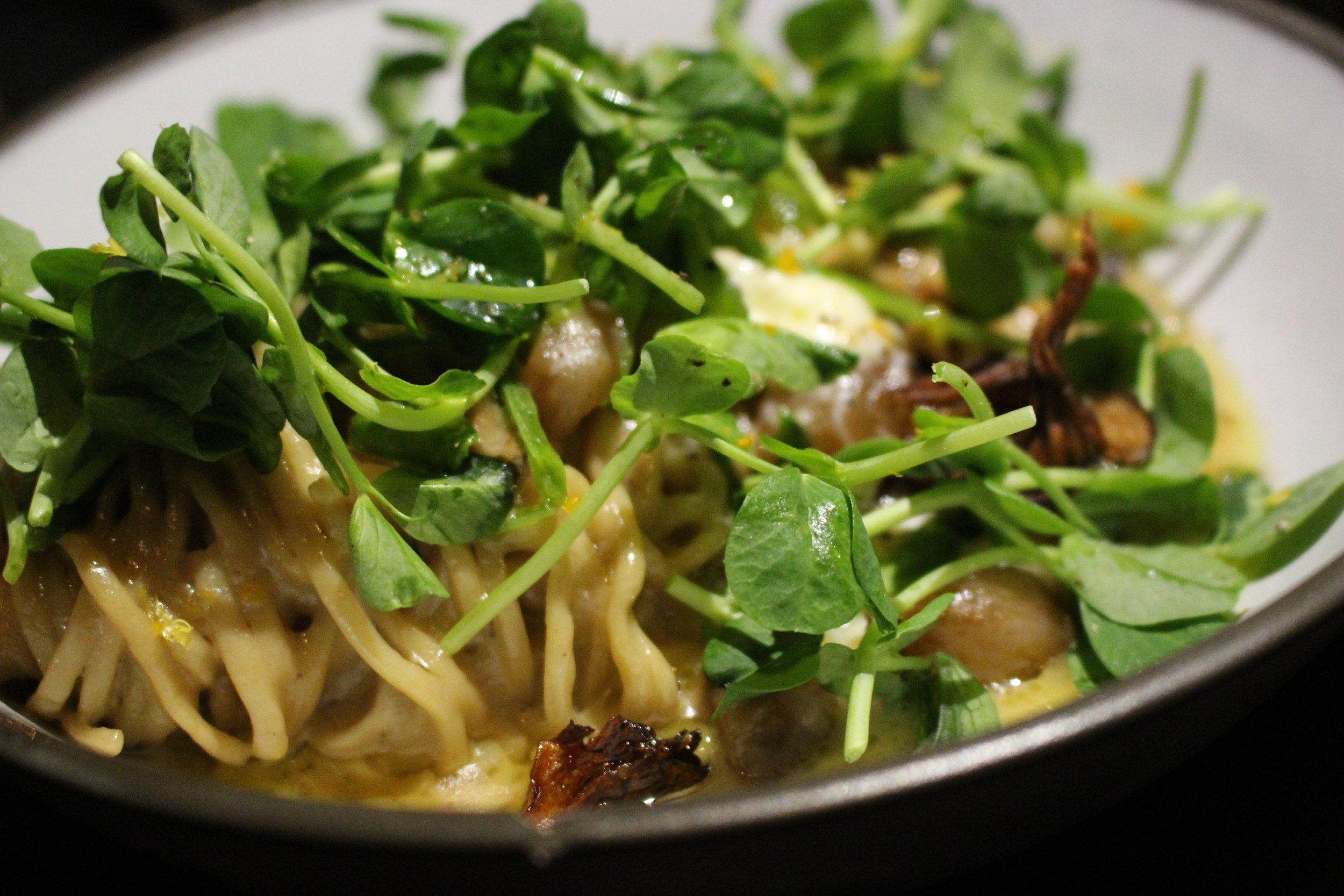 Native's chestnut spaghetti (photo: Tamara Palmer)