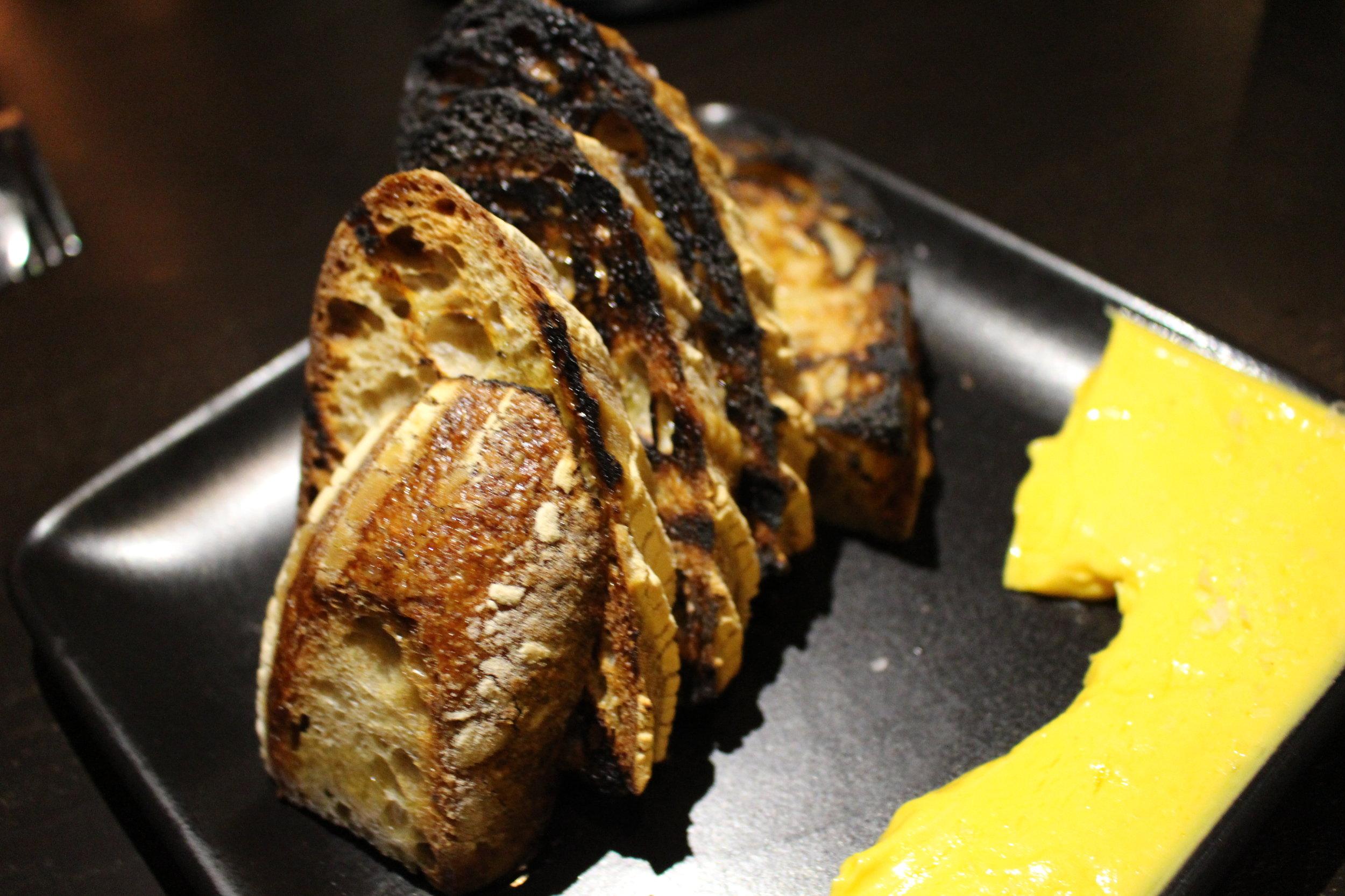 Kemper Farms wheat bread with carrot cardamom butter (Photo: Tamara Palmer)