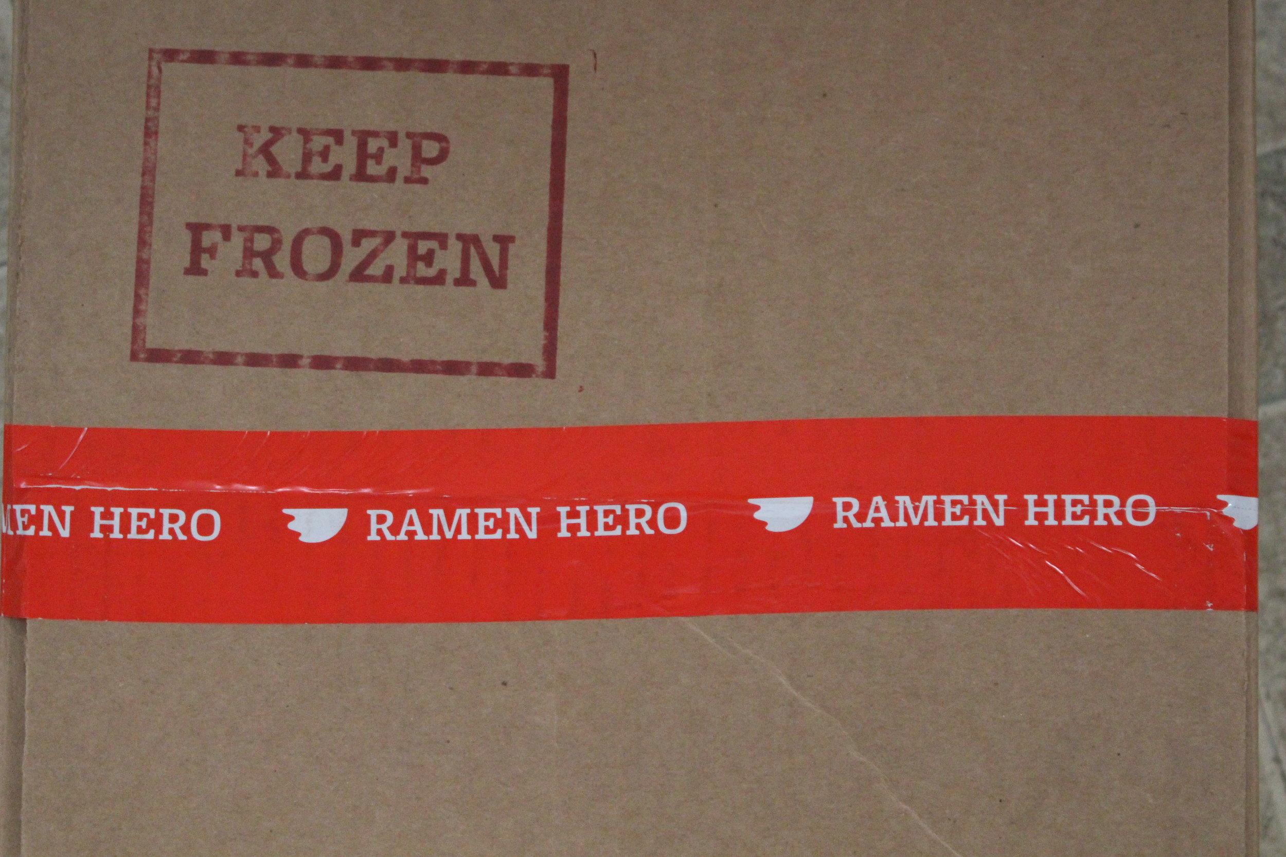 Ramen Hero to the rescue (Tamara Palmer)