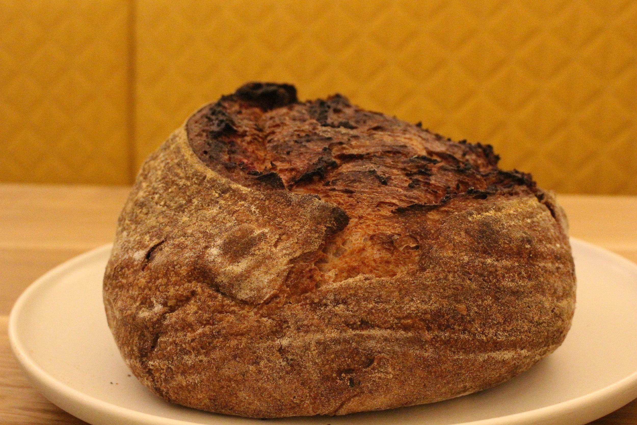 Purple sweet potato bread (TP)