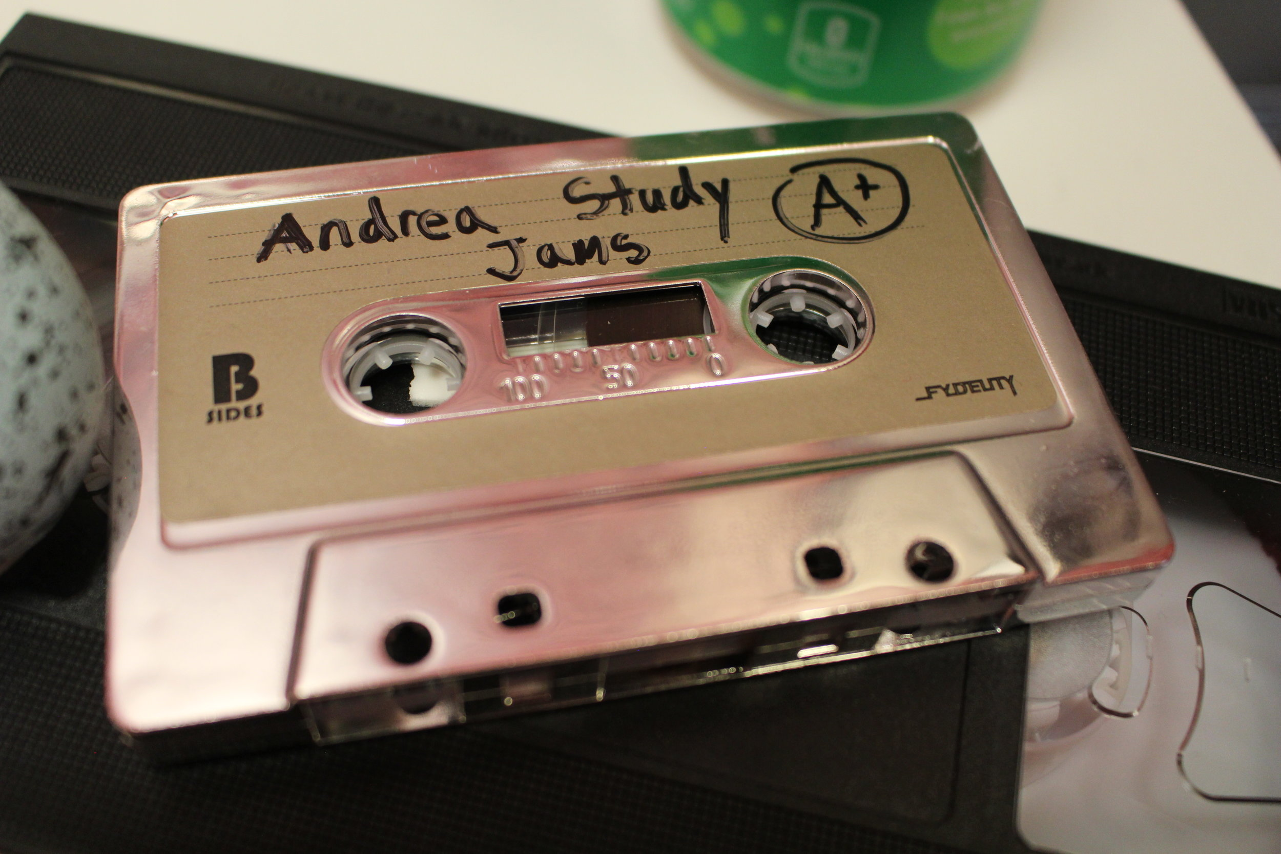 """What would be on Andrea's """"Study Jams"""" mixtape?"""