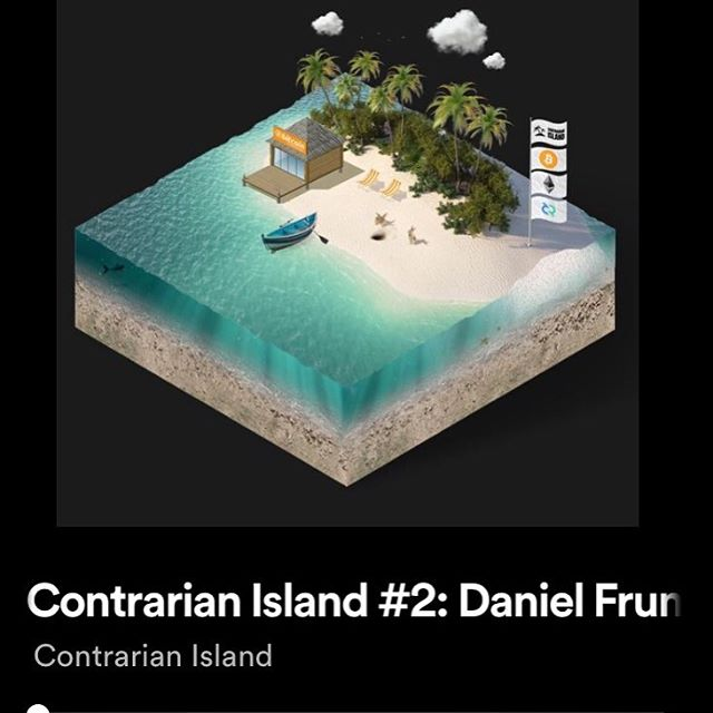 I was invited on the Contrarian Island podcast recently to share my investment thesis on cryptocurrencies and why I'm trying to accumulate as much Bitcoin as I can in 2019. I also talked about my decision not to pursue engineering when I graduated and why travel / location independence is so important to me.  You can find the podcast on Apple Podcasts, Spotify, and Google Play. Check it out! And if you are new to crypto and want to learn more, feel free to reach out to me. I love talking about it!
