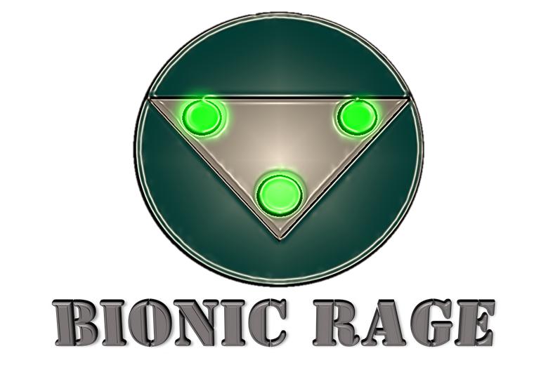 Bionic Rage - Emblem Logo II Glow and Title.png