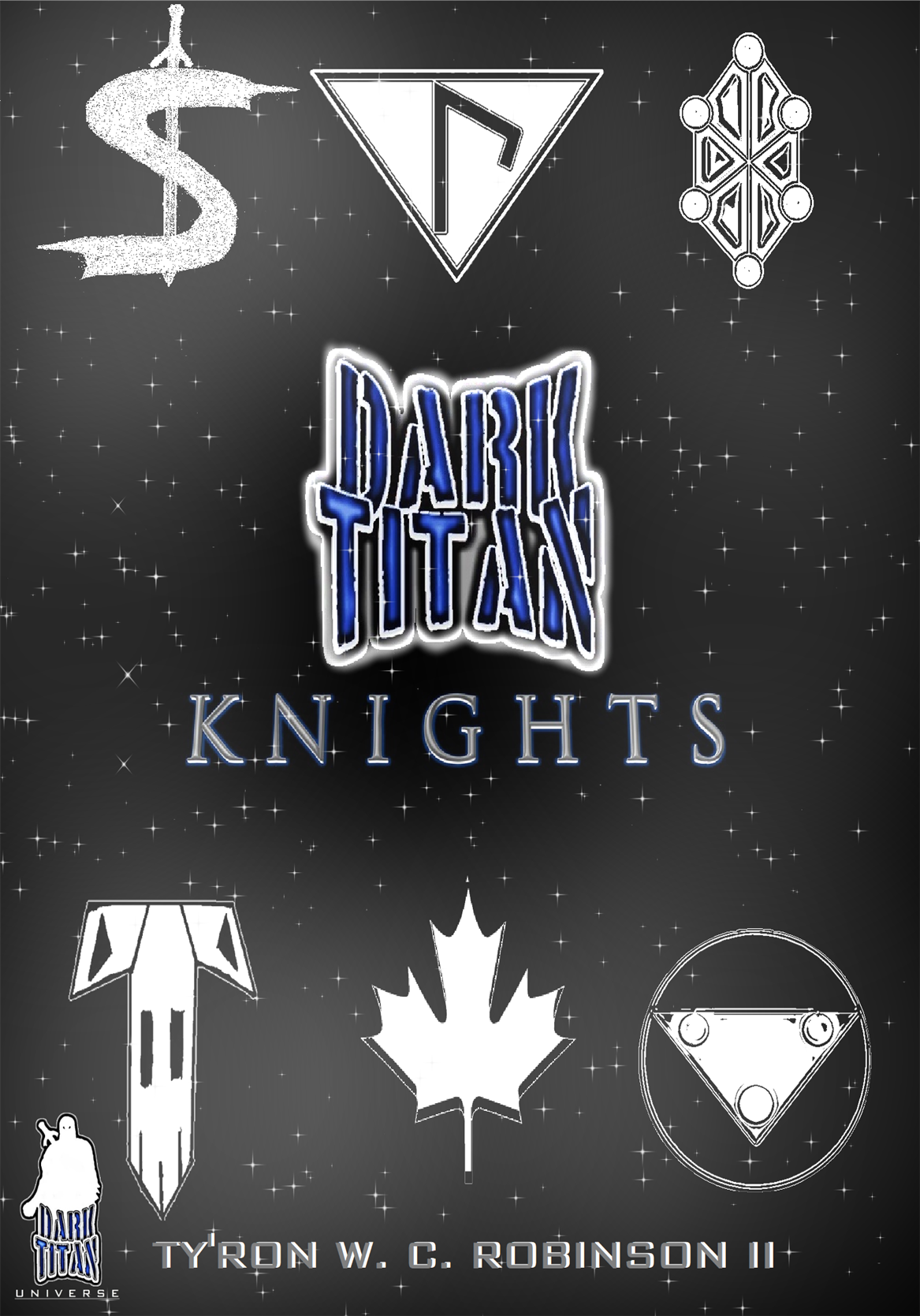 Dark Titan Knights - Paperback Front Cover.png