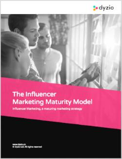 Influencer Marketing Maturity Model