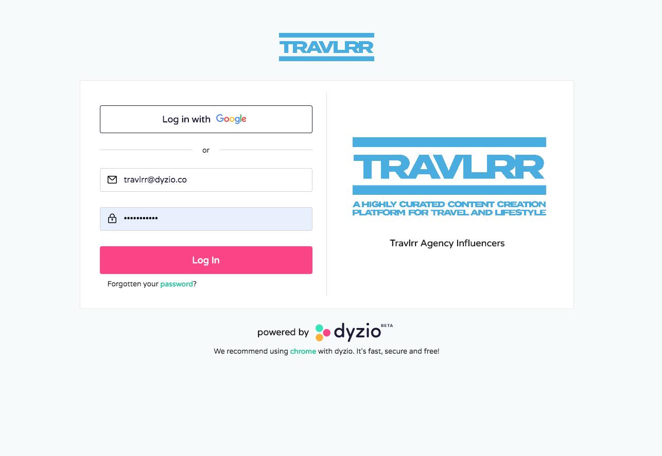 Travlrr.co White Label Platform