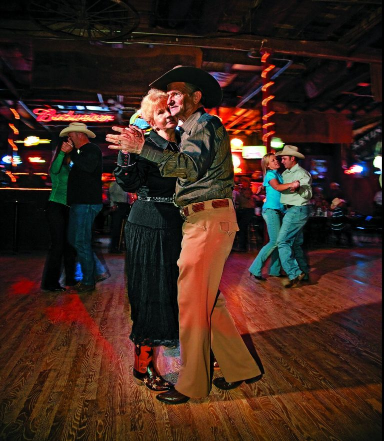 The dance hall is a fabulous place to  two-step  (Credit: The Old Coupland Inn & Dance Hall)