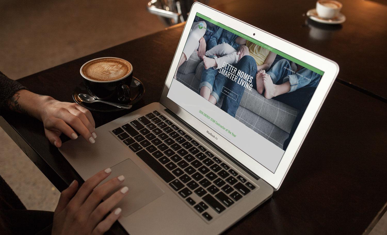 The new and improved GreenSaversUSA.com website. An original design for Squarespace by Sarah Moon - sarahmoon.net
