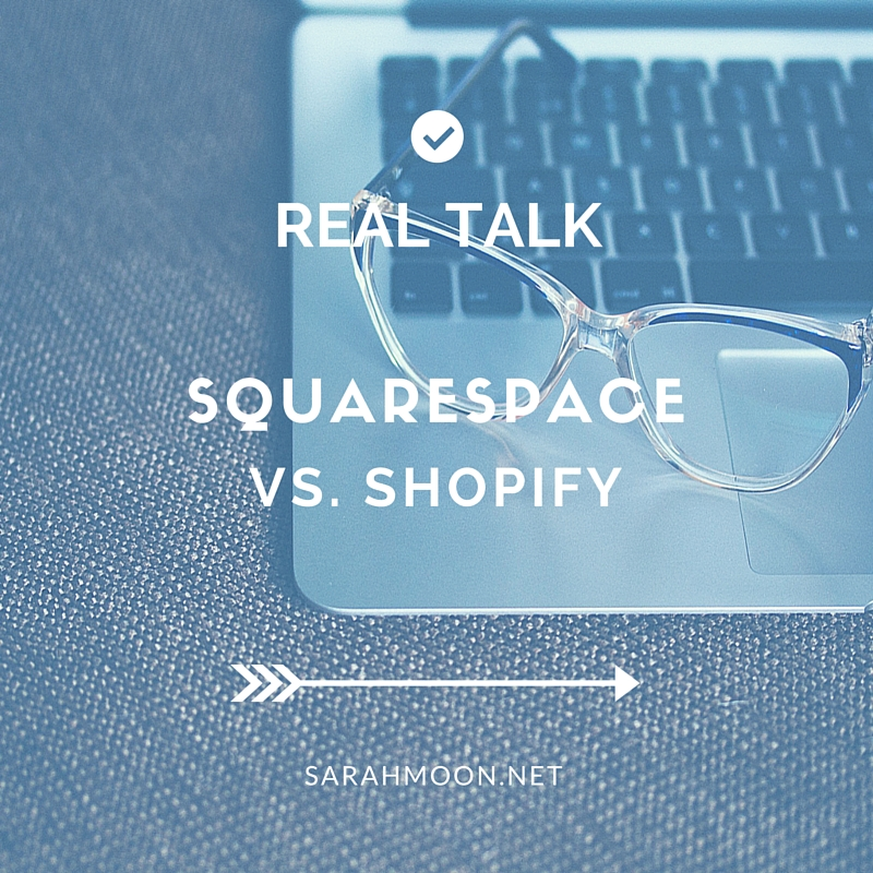 Real Talk: Squarespace vs Shopify (and more!)