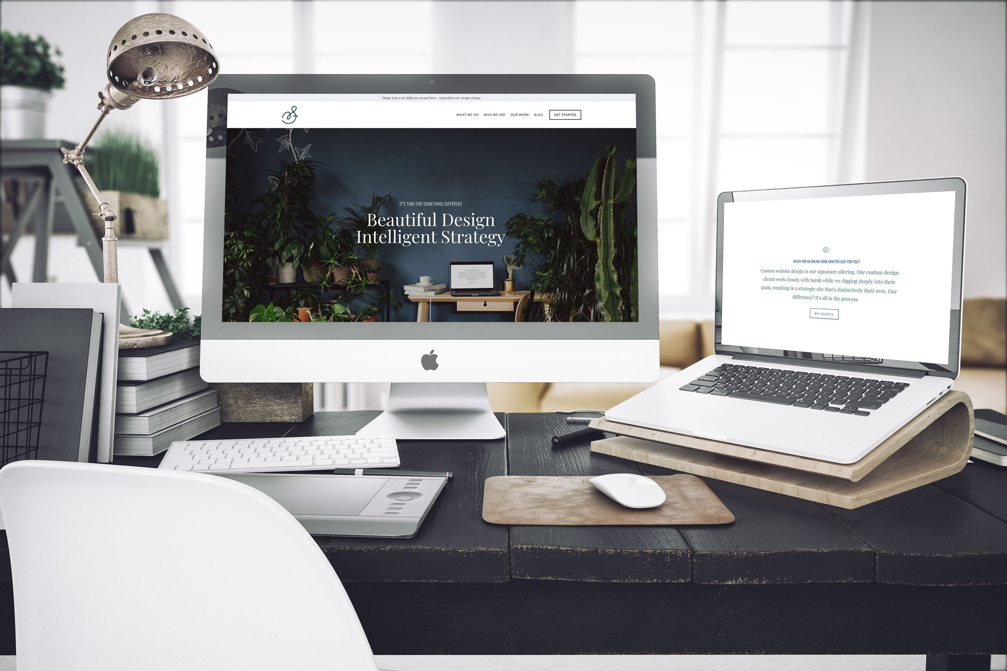 A New Squarespace Website for Sarah Moon + Co