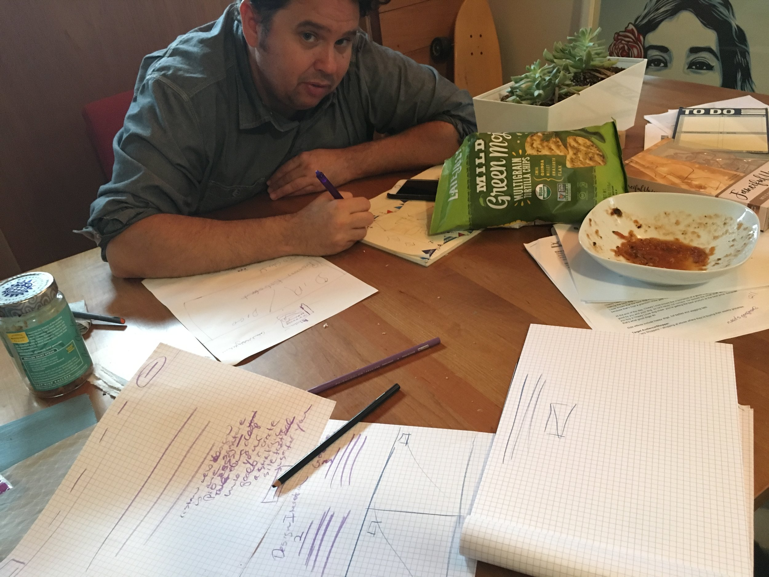 We start the planning for every custom website with pencil & paper—but had never done this for the SMCO website. Josh and I spent a lot of evenings literally sketching our the journey map for the site restructure. Shout out to 4th of July chips and Frontera salsa for fueling us!