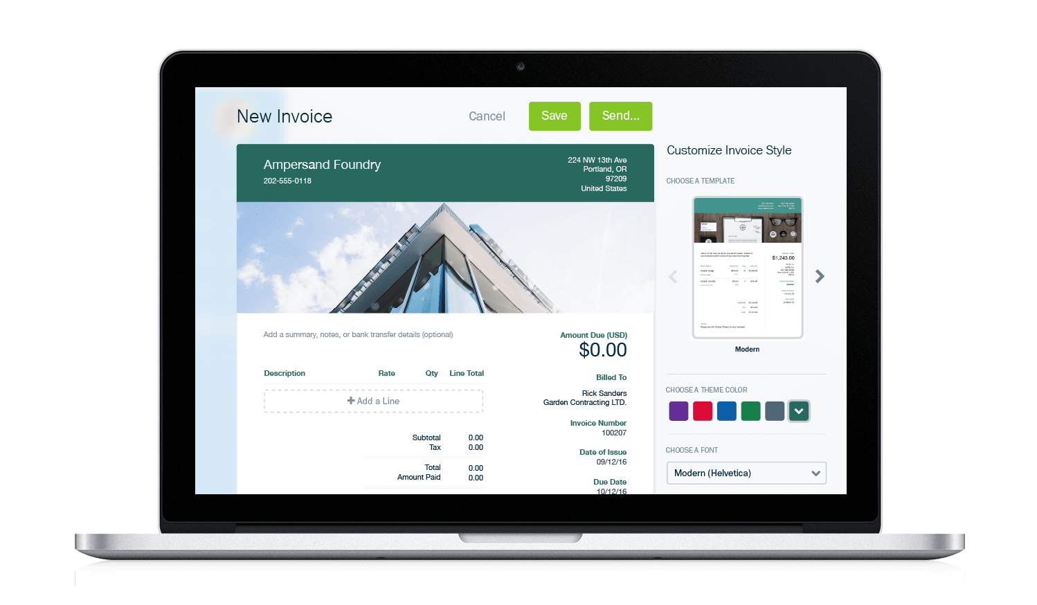 Freshbooks - Freshbooks is the accounting app that we recommend to our design business strategy clients and we used it for years until we outgrew it.